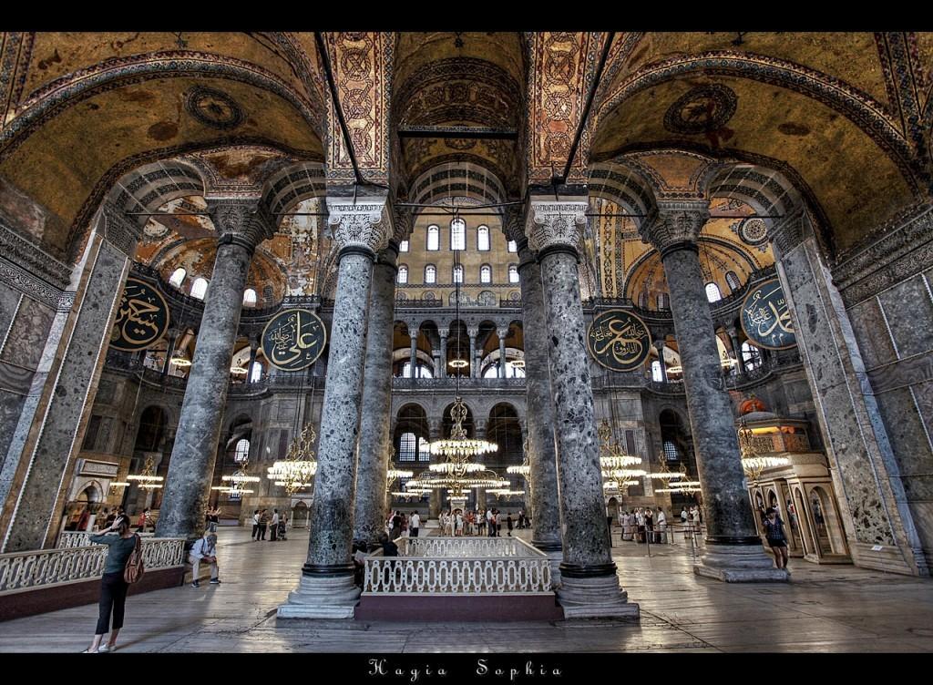 Les 10 Monuments à Visiter à Istanbul, La Basilique Sainte Sophie