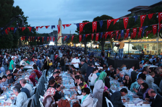 ISTANBUL PENDANT LE RAMADAN, L'hippodrom Istanbul