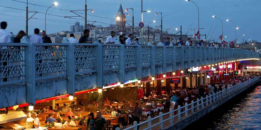 le pont de Galata istanbul