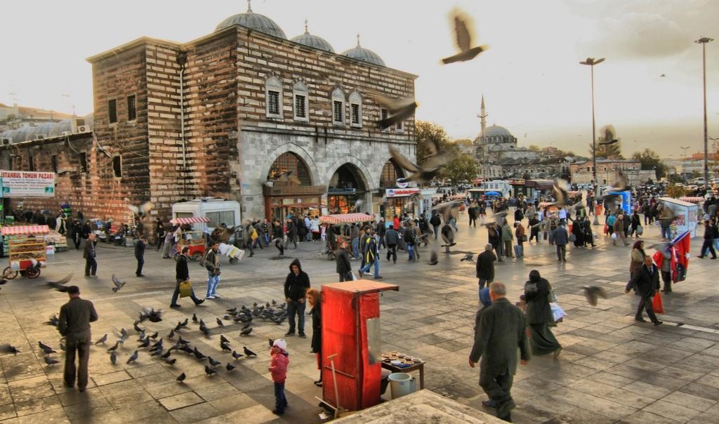 Le Marché Aux Épices Istanbul, La promenade sur le Bosphore