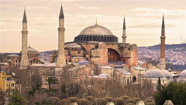 La Basilique sainte Sophie Istanbul