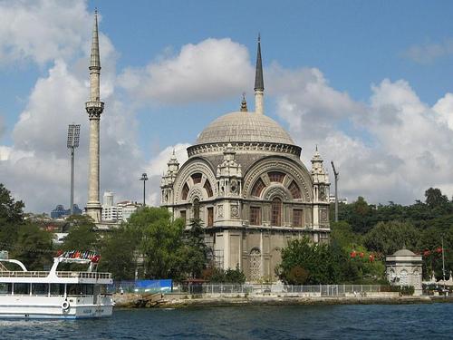 Istanbul, La Mosquée Du Palais de Domabahce