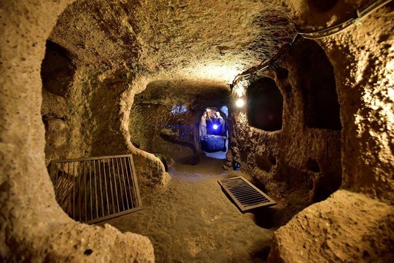 la ville souterraine Cappadoce