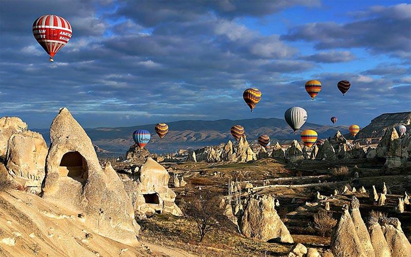 Le Vol En Montgolfière En Cappadoce