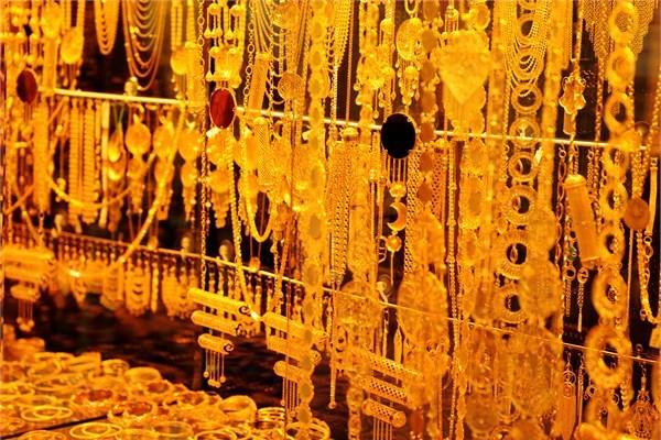 de l'or au grand bazar d'Istanbul