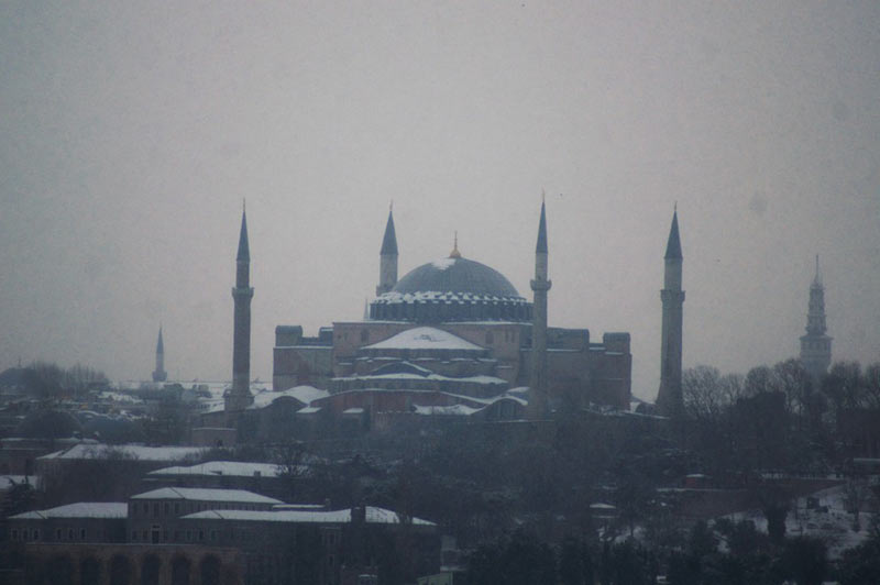 Photos d'Istanbul la Basilique Sainte Sophie