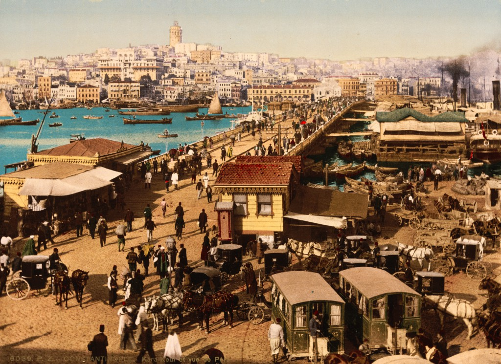 Visiter Istanbul, Le Pont de Galata