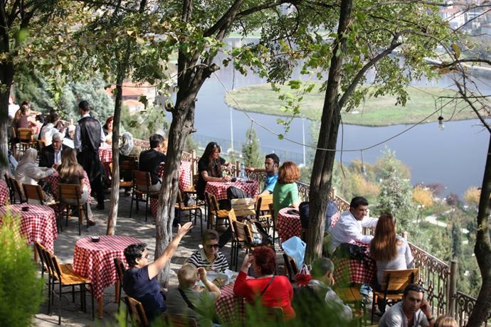 Le Café Pierre Loti, Eyup, Istanbul