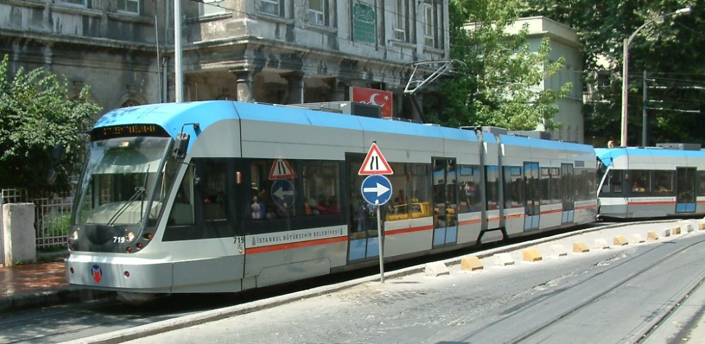 Le Tramway à Istanbul