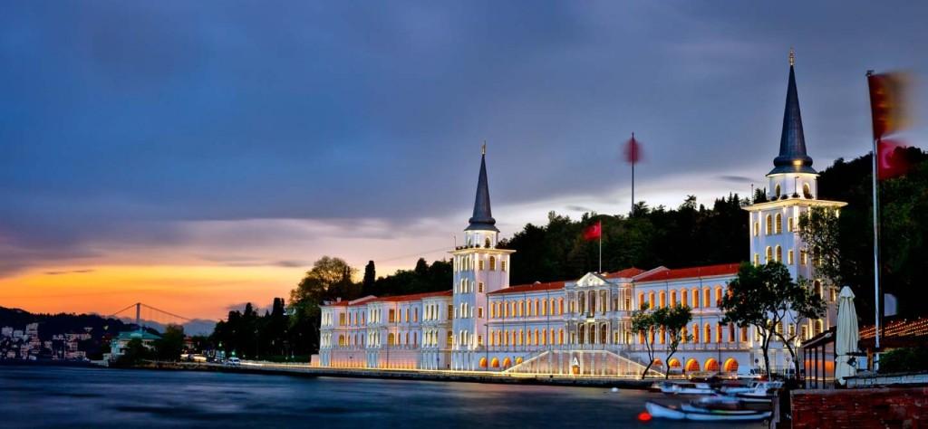 Le Lycé Militaire De Kuleli Le Bosphore Istanbul, la promenade sur le Bosphore