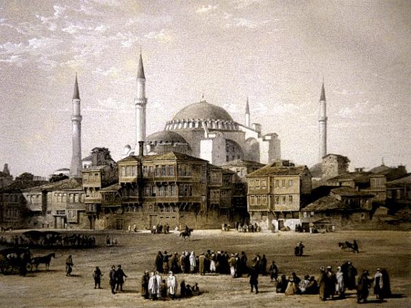 Visiter Istanbul, La Basilique Sainte Sophie