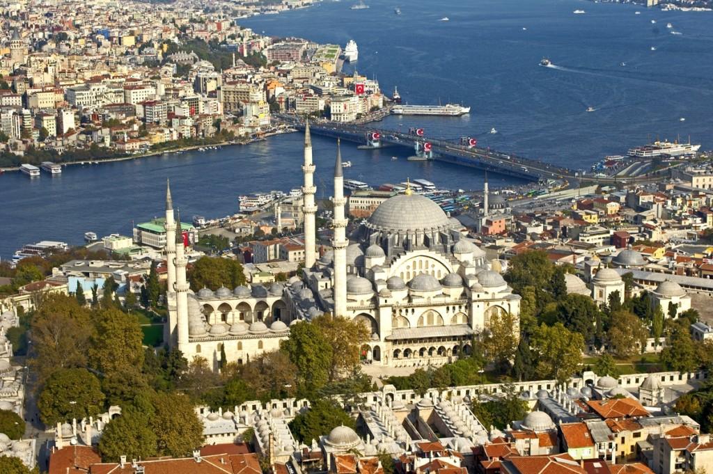 La Mosquée de Soliman Le Magnifique, La promenade sur le Bosphore