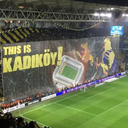 Kadıkoy Istanbul la stade de Fenerbahçe
