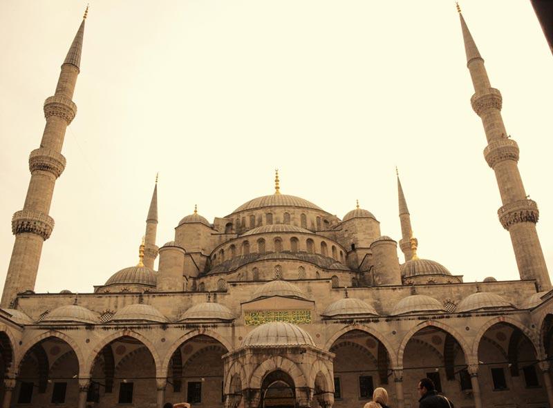 Photo Istanbul, la Mosquée Bleue