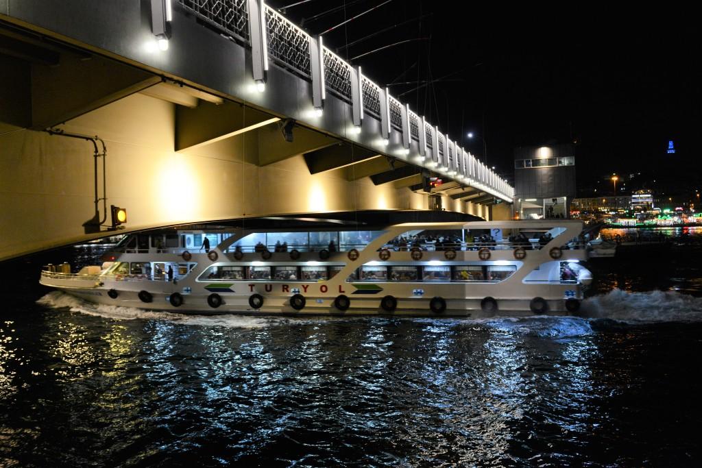 Photos d'Istanbul, le Pont de Galata