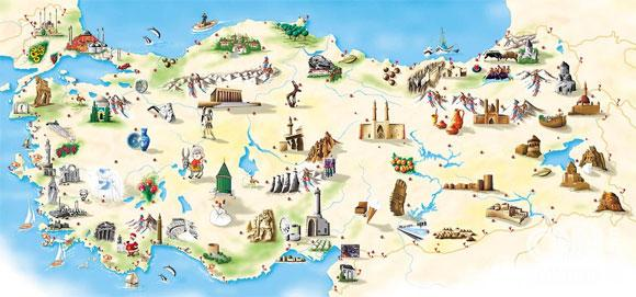 La Carte de Turquie