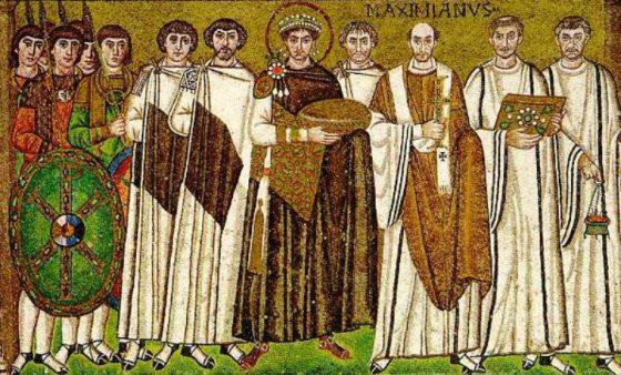 Les tenues des bizantins