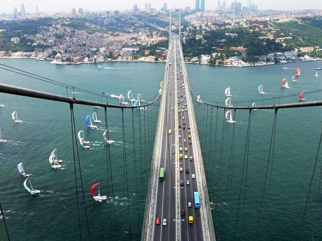 Le Pont Du Bosphore Istanbul, la promenade sur le Bosphore