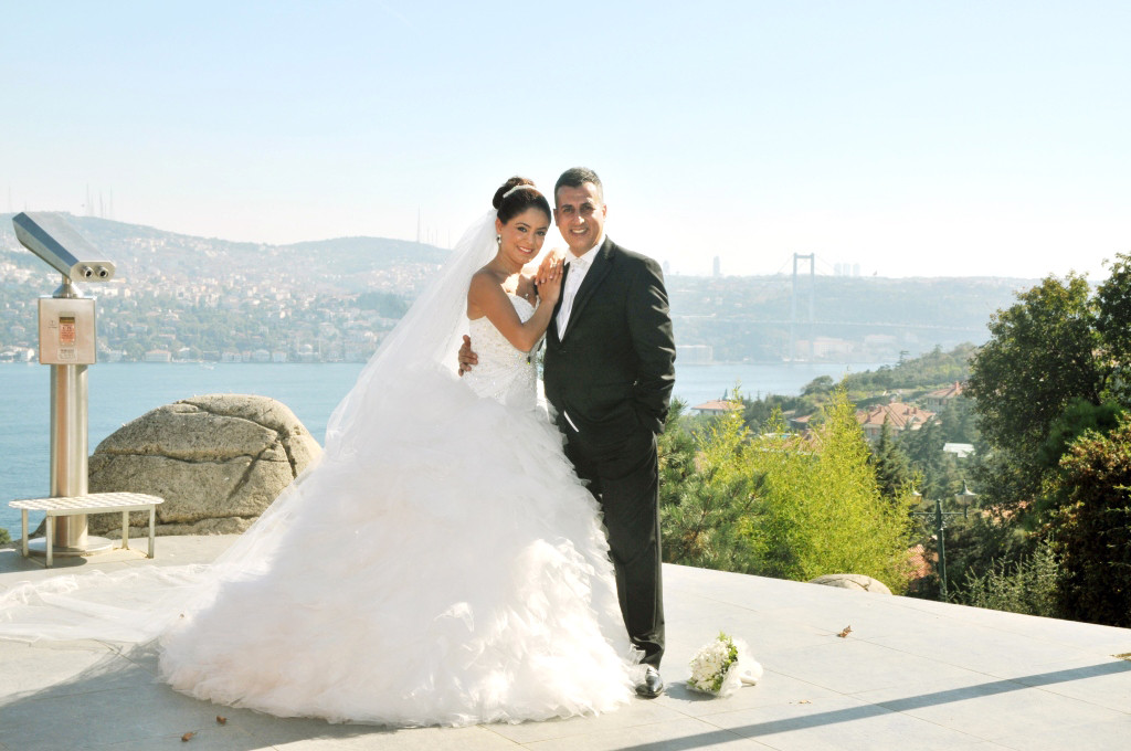 le mariage au Bosphore Istanbul