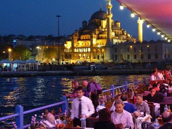 Les Restaurants Du Pont De Galata, Istanbul