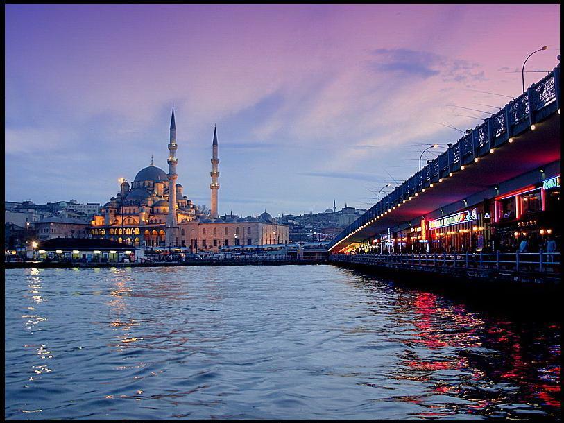 Le Pont De Galata, Istanbul
