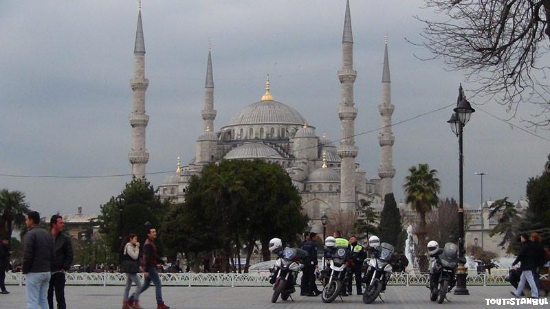 Visiter Istanbul, la Mosquée Bleue