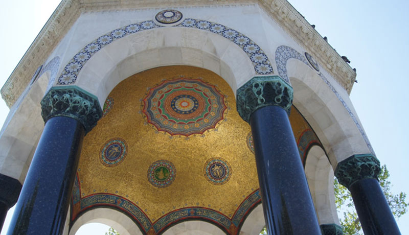 l'obélisque de Théodose de l'Hippodrome de Constantinople