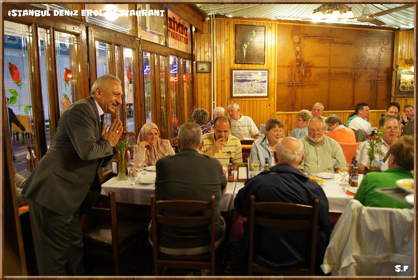 Ph haci au restaurant Deniz Istanbul