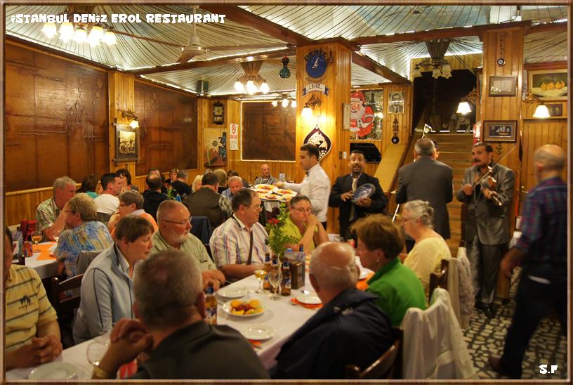 Deniz restaurant Kumkapi Istanbul