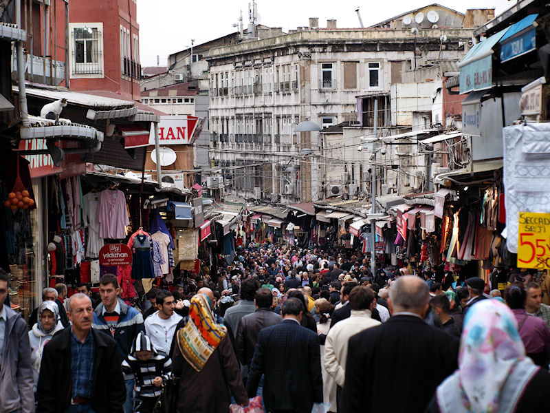 shopping Mahmutpasa istanbul