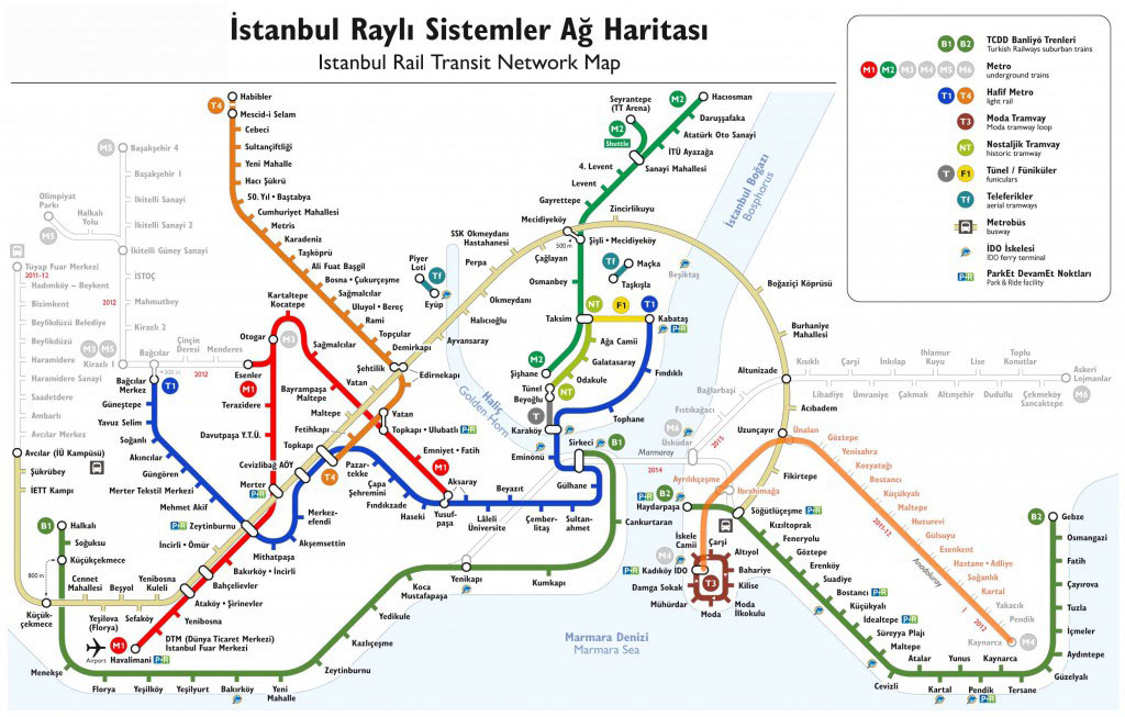 le Metro Istanbul