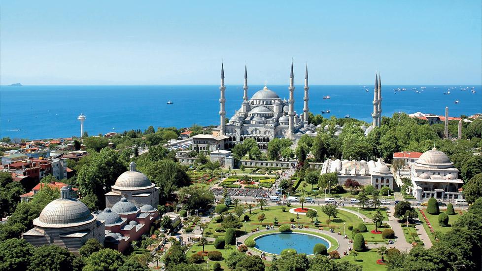 Les 10 Monuments à Visiter à Istanbul, La Mosquée Bleue.