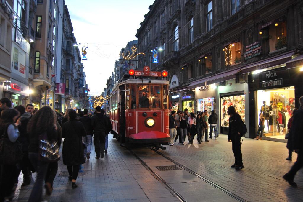 La Rue Istiklal, Istanbul