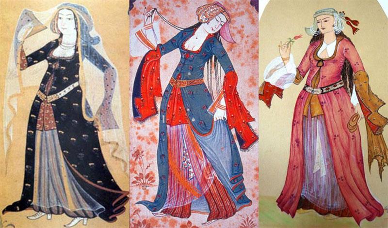 Comment les femmes ottomane s'habillaient ?