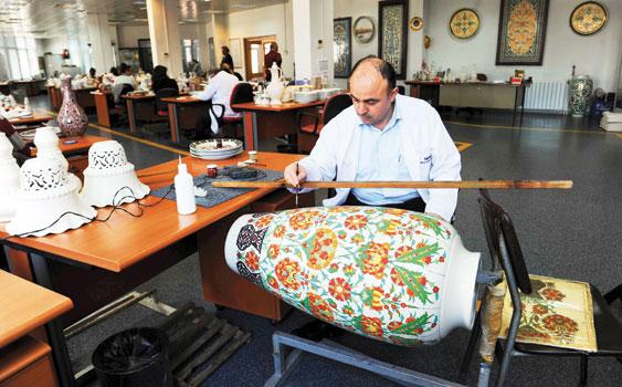 Manufacture de porcelaine le palais de yildiz Istanbul