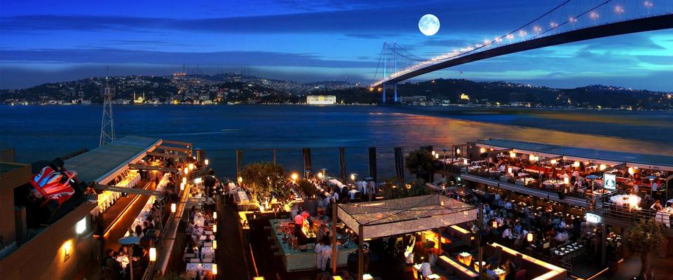 Reina Nightclub Istanbul Le Bosphore, la promenade sur le Bosphore