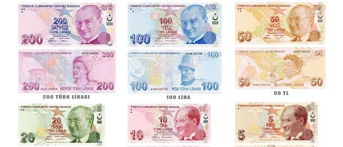 la Monnaie Turque, La Livre Turque, Lira - toutelaturquie, guide Istanbul