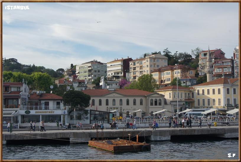 Le Quartier Arnavutkoy, lLe Bosphore Istanbul