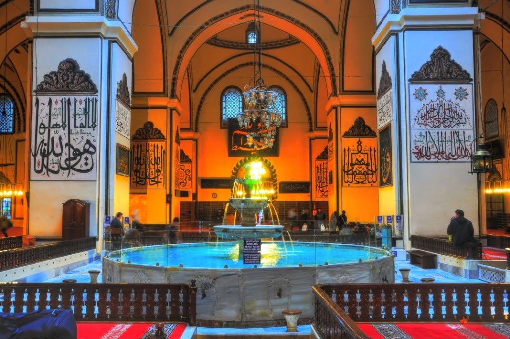 Bursa la grande mosquée Ulucami, La Turquie