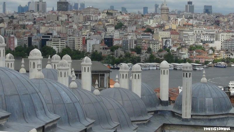 Vue de la Mosquée de Soliman le Magnifique Istanbul