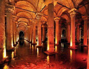 La Citerne Basilique Istanbul, excursion 2 jours à Istanbul