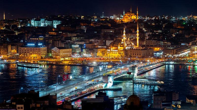 Que faire la nuit à Istanbul