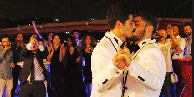 le mariage gay à Istanbul